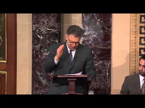 Sen. Franken Urges Colleagues to Take Action to Address Climate Change