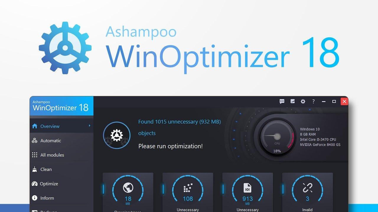 Ashampoo Winoptimizer 6 Free Download