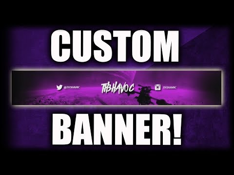 How To Make A YouTube Banner WITHOUT Photoshop! (Pixlr Tutorial) Make A YouTube Banner For FREE 2018