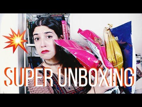 SÚPER UNBOXING DE LIBROS | CON M -la gata-