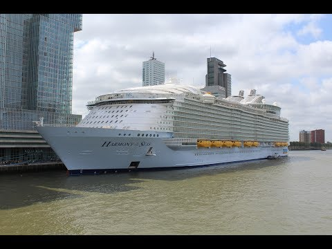 Harmony of the Seas at Rotterdam and Hoek van Holland 24 mei
