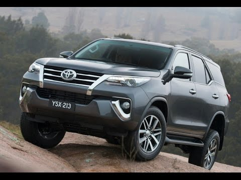 2016 Toyota Fortuner 4dr SUV - YouTube
