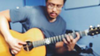 Thom Yorke - Guess Again! (Piano and Guitar Tutorial) [HD]