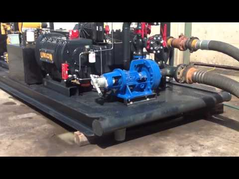Union TX-200 Triplex Plunger Pump Package Stock 56437