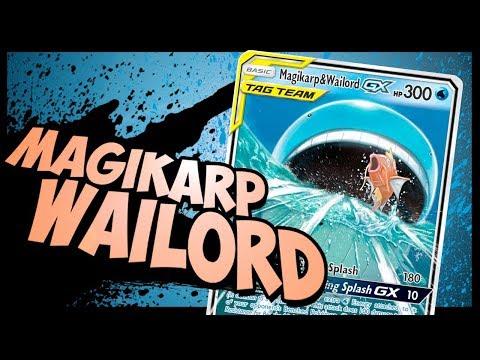 Quad Kill MAGIKARP & WAILORD Tag Team GX Deck That Kicks ... Wailord And Quagsire