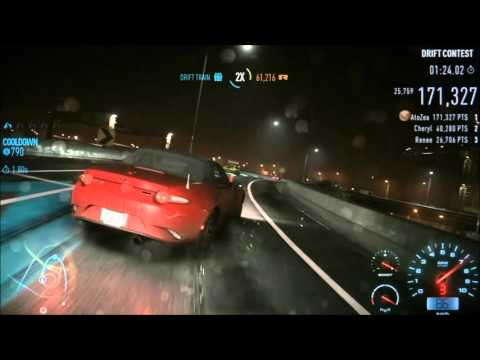 Need for Speed Drift Gameplay: Night of Fire