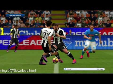 PES 2017 Scoreboard Mediaset PREMIUM Calcio HD by QuangTri78