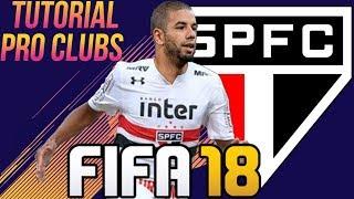 FIFA 18 - TUTORIAL FACE I Bruno Peres (São Paulo FC) [Pro Clubs]