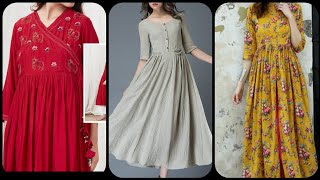 Outstanding trendy designer long frocks collection 2019 2020