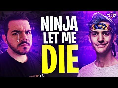 NINJA LET ME DIE! THE ULTIMATE BETRAYAL! (Fortnite: Battle Royale)