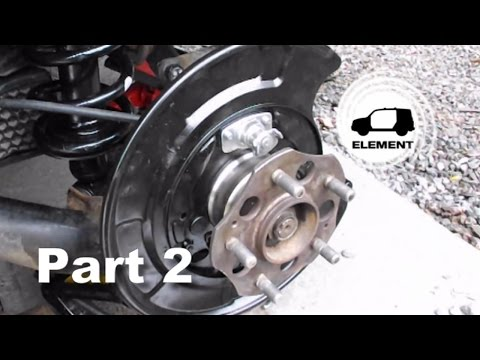 Honda Element Rear Wheel Bearing Replacement How I Did It