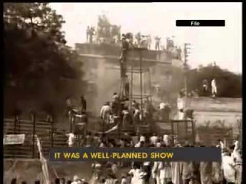 6th Dec 1990 Babri Masjid attack