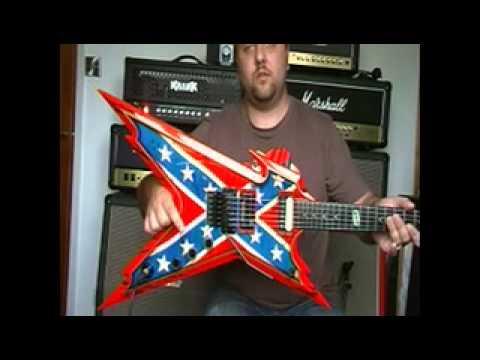 washburn and dean dimebag darrell guitars into krank rev 1 youtube. Black Bedroom Furniture Sets. Home Design Ideas