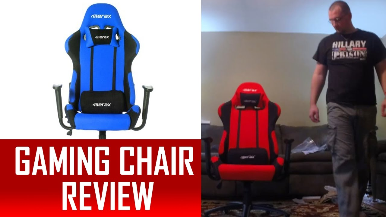 Gaming Chair Unboxing Setup Features Review Merax Ergonomic Race