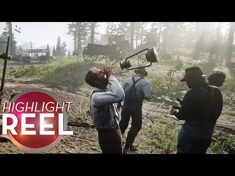 Highlight Reel #454 - Dumbass Cowboy Loves To Drink Lamp Oil