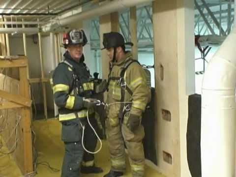 Firefighter Rescue: Using a Personal Escape System - Wrapping the Hook and Carabiner