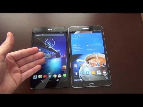 LG G Pad GPE VS Samsung Galaxy Tab Pro 8.4 Pt 1