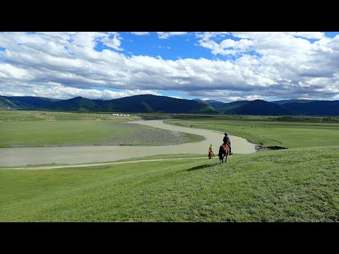 Riding Holidays in Mongolia - Orkhon Valley Trail Rides