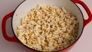 Butter Parmesan Popcorn Recipe - Laura Vitale - Laura In The Kitchen Episode 345