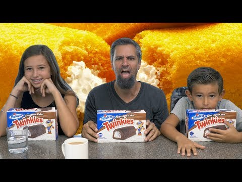 2018 Chocolate Twinkies Challenge | Josh Darnit Family