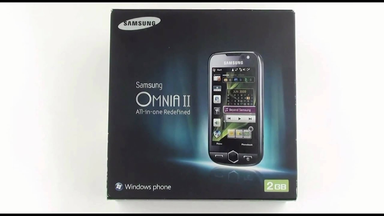 SAMSUNG OMNIA 2 MODEM DRIVERS FOR PC