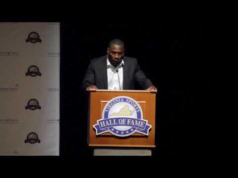 2018 Virginia Sports Hall of Fame - Thomas Jones Induction Speech