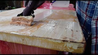 How To Strip Wood Furniture | Aom Dresser Makeover Part 1