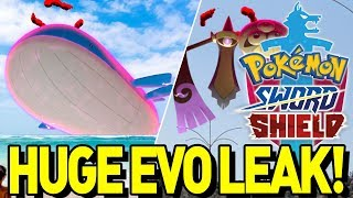 MASSIVE NEW EVOLUTION LEAK in POKEMON SWORD and SHIELD! Sword and Shield Evolution Discovery!