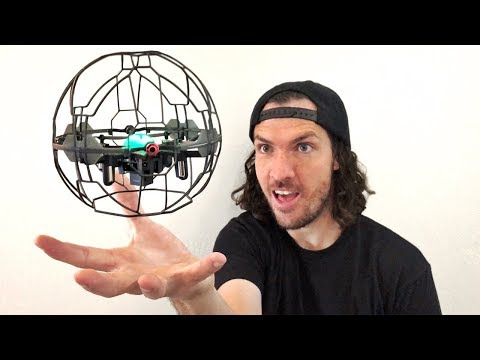 WORLDS FIRST SMART DRONE (no remote control)