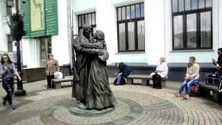 Прощание Славянки.Памятник. Белорусский вокзал. Москва. Лето 2017 г.# IVI.obo.mne_ИВИ.обо.мне