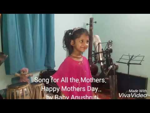 Tu Kitni Achhi Hai...cover by Baby Anushruti.