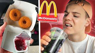 Die neuesten FAST FOOD TRENDS im TEST! 😳 (McDonald's)