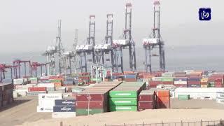 استمرار عمليات المناولة في ميناءي الحاويات والعقبة الجديد