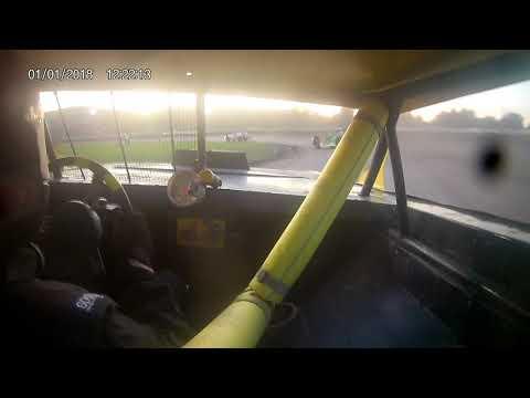 In car 01. - dirt track racing video image
