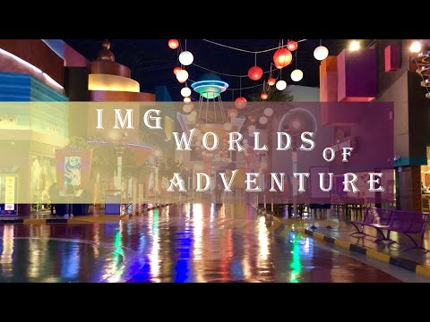 IMG Worlds of Adventure in Dubai, United Arab Emirates in 2020