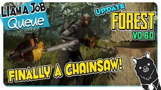 The Forest Update V0.60 Chainsaw, Beanies And Flannel, Structural Damage Balance