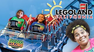 ZZ KIDS WENT TO LEGOLAND! OUR CALIFORNIA FAMILY VACATION!