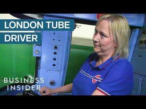 Day In The Life Of A London Tube Driver