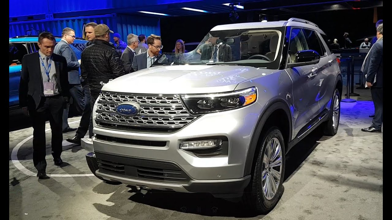 2020 Ford Explorer Hybrid The Most Fuel Efficient Large Suv