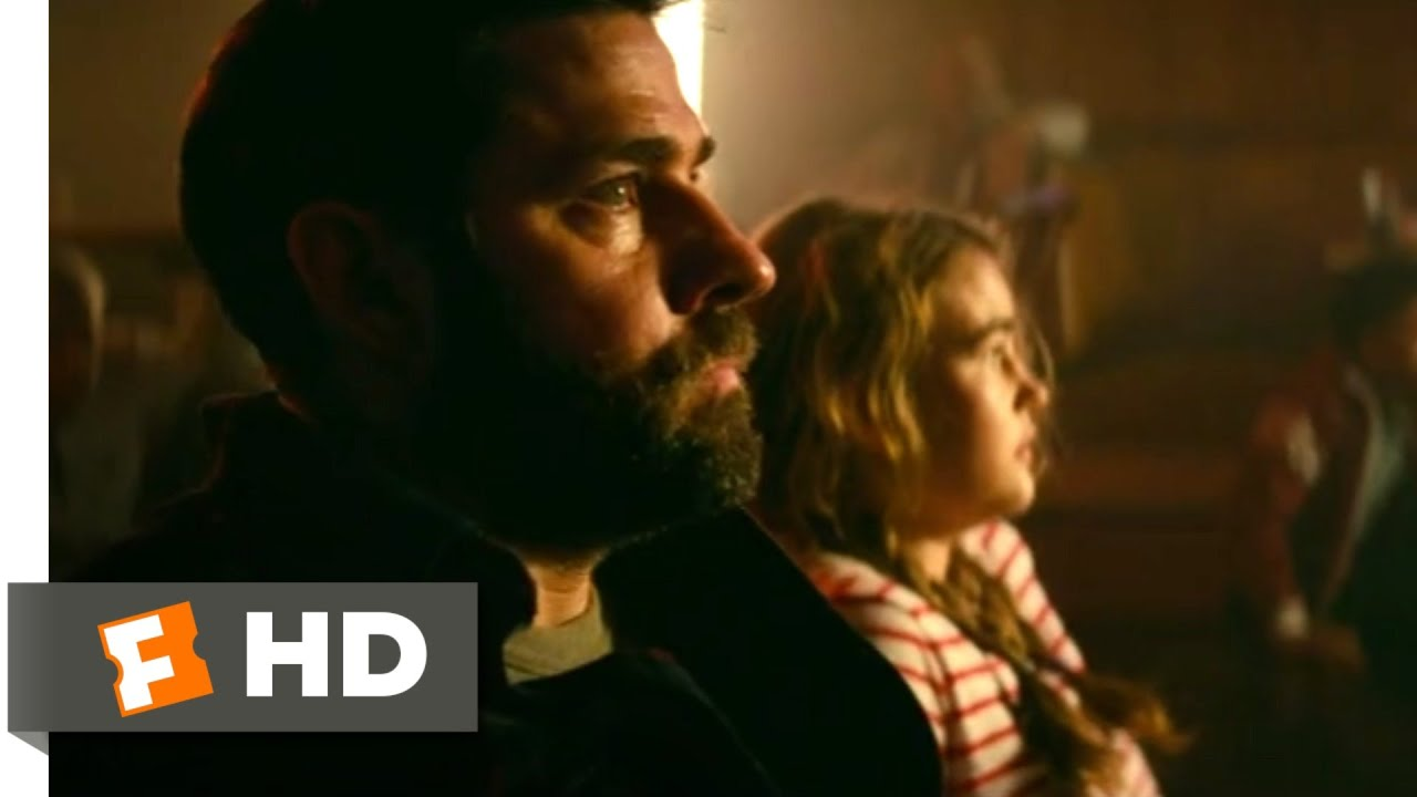Download A Quiet Place Part II (2021) - Hiding in the Restaurant Scene (2/10)   Movieclips