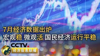 《经济信息联播》 20190814| CCTV财经