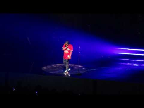 Bruno Mars Performing 'When I Was Your Man' Prudential Center In Newark, NJ 10/2/2018
