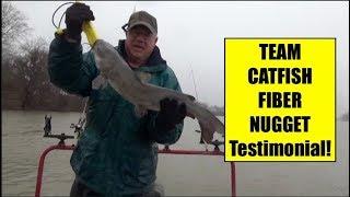Team Catfish FIBER NUGGETS Catfish Bait Testimonial!