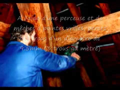 traitement du bois de charpente - Xylophene Color