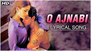 O Ajnabi (Happy) | Lyrical Song | Main Prem Ki Diwani Hoon | Hrithik Roshan, Kareena Kapoor