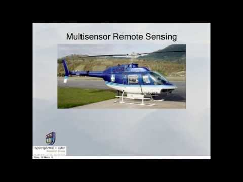 Dr. Olaf Niemann: Feature extraction from multisensor airborne data - Part 1