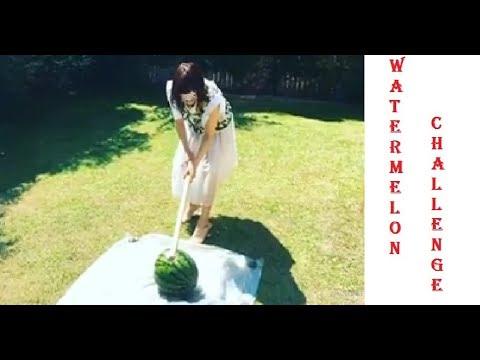 Funny Moment Ohara Sakurako - Watermelon Challenge