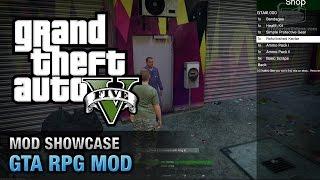 GTA 5 PC - Role Playing Mod [Mod Showcase]
