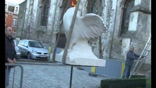 Le nouveau coq du Monument aux Morts de Seclin