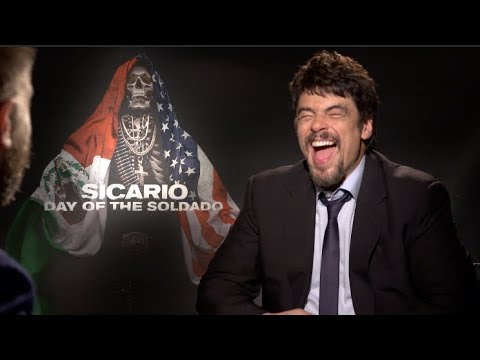 SICARIO: DAY OF THE SOLDADO interviews - Benicio Del Toro and Josh Brolin